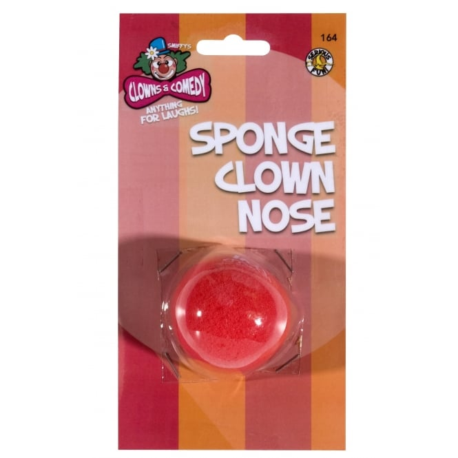 7 x Red Clown Noses - Accessory Set