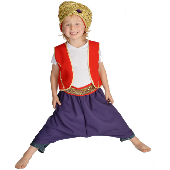 Arabian Prince or Aladdin - Kids Costume