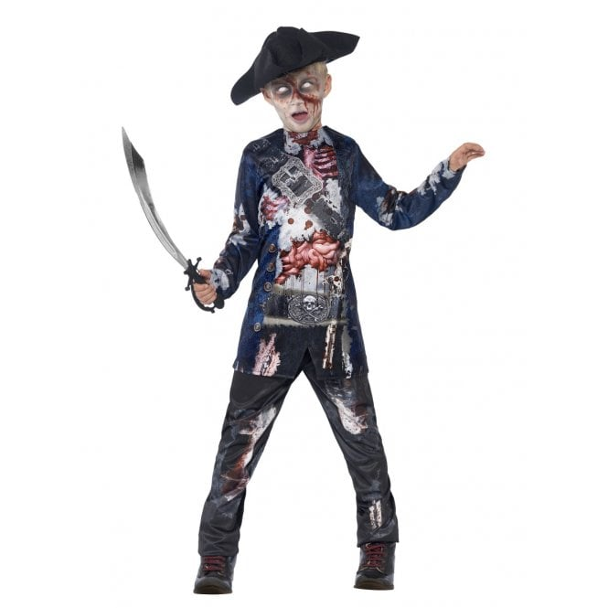 Deluxe Jolly Rotten Pirate - Kids Costume