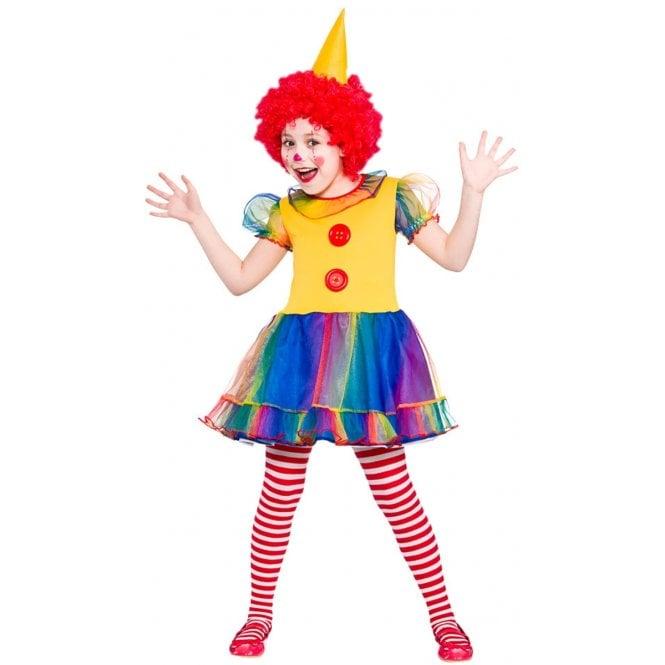 Cute Little Clown - Kids Costume