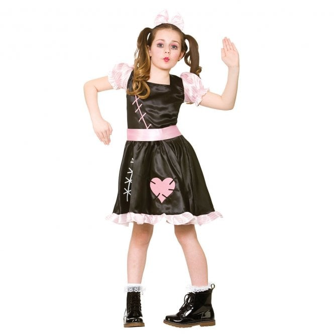 Wind Up Doll - Kids Costume