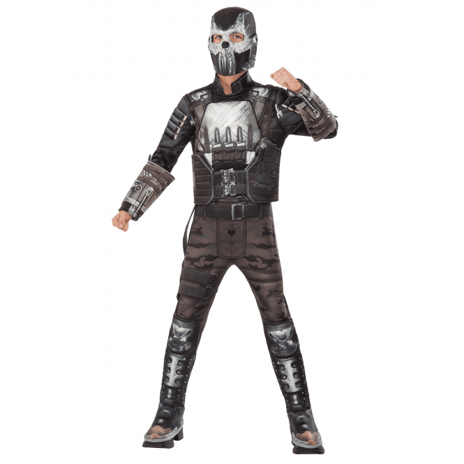CAPTAIN AMERICA - CIVIL WAR ~ Crossbones Deluxe - Kids Costume