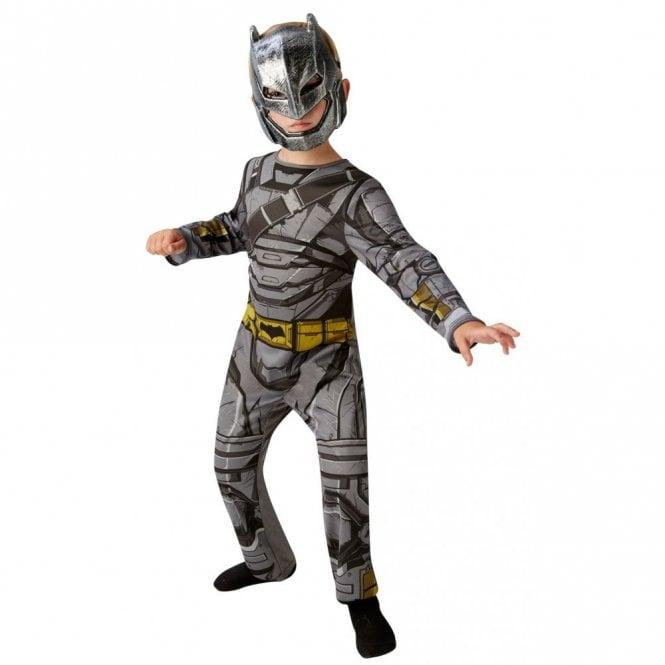 BATMAN ~ Batman V Superman Dawn Of Justice ~ Classic Armoured Batman - Kids Costume