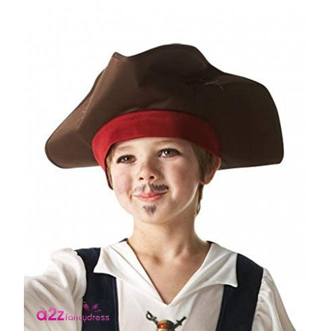 PIRATES OF THE CARIBBEAN ~ (On Stranger Tides) Captain Jack Sparrow Hat - Kids Accessory