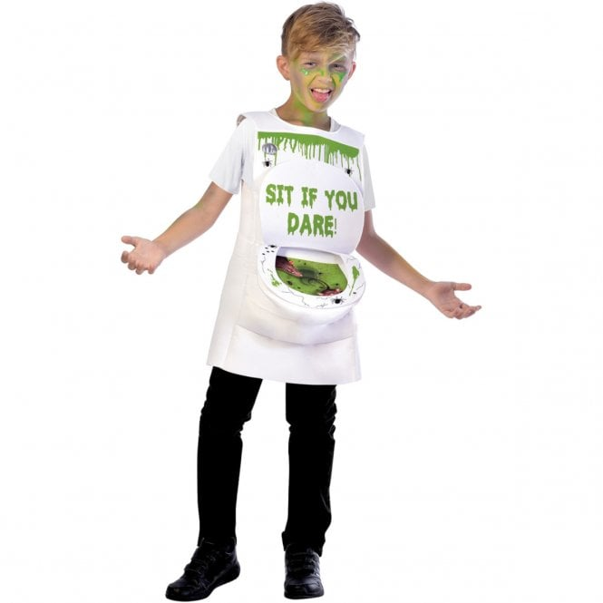 Slimy Toilet - Kids Costume