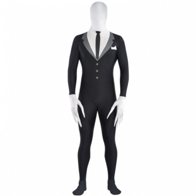 Slender-Man Partysuit - Kids Costume