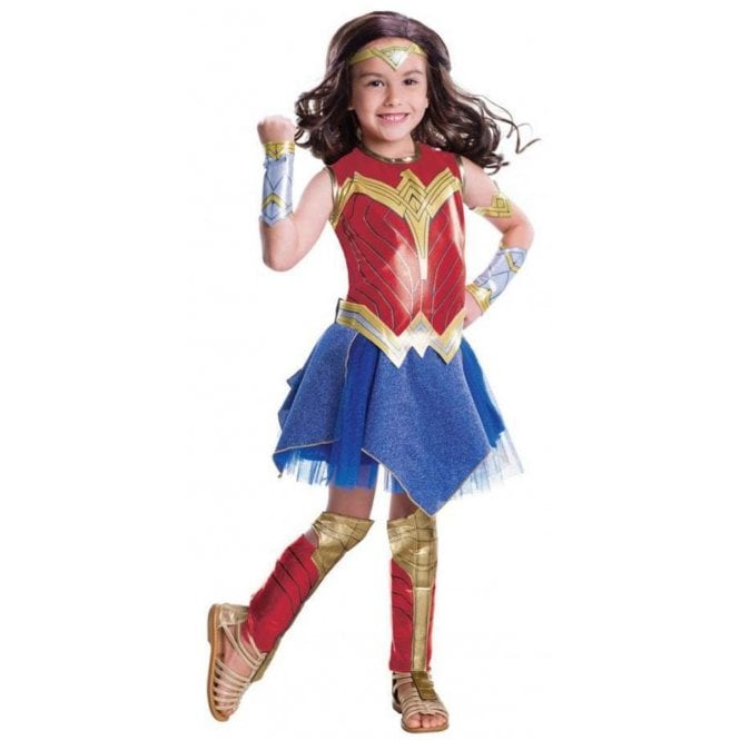 Deluxe Wonder Woman *2018 JUSTICE LEAGUE* - Kids Costume