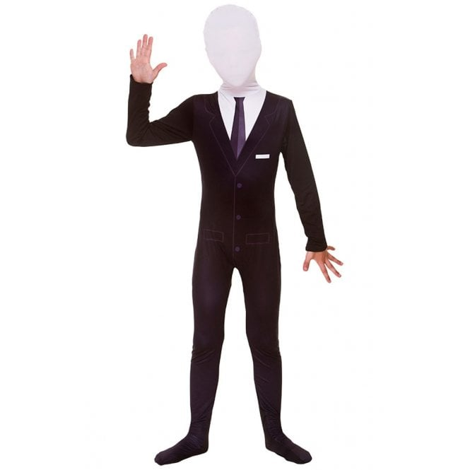 Slenderman Skinz - Kids Costume