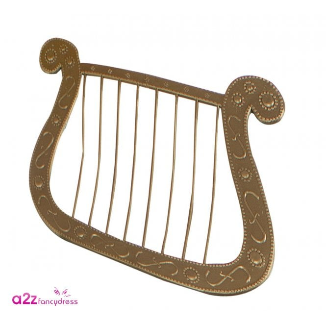 Gold Angel Harp - Kids Accessory