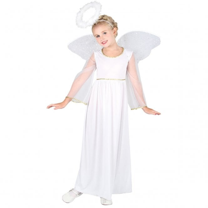 Nativity Angel with Wings & Halo - Kids Costume