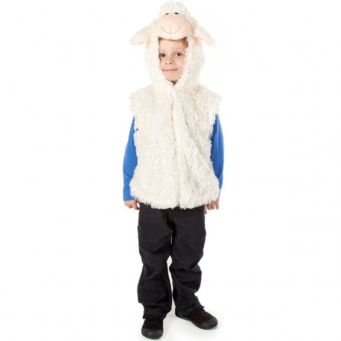 Sheep Zip Top - Kids Costume