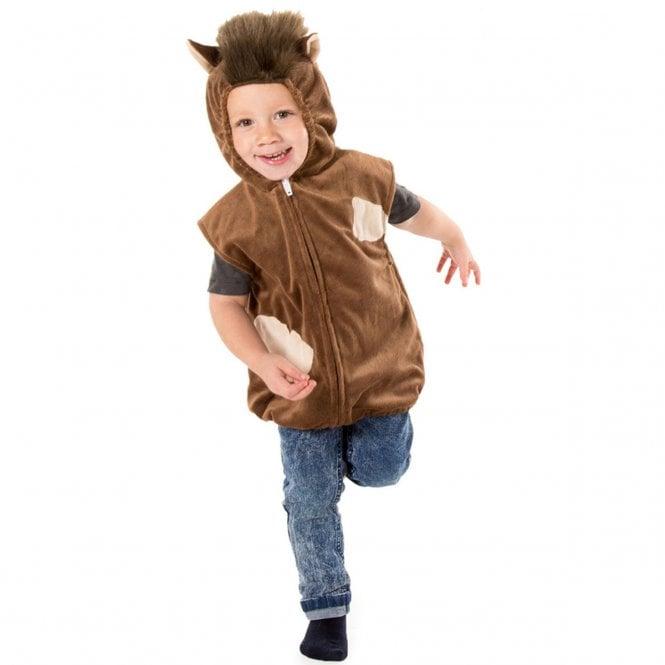 Horse Zip Top - Kids Costume