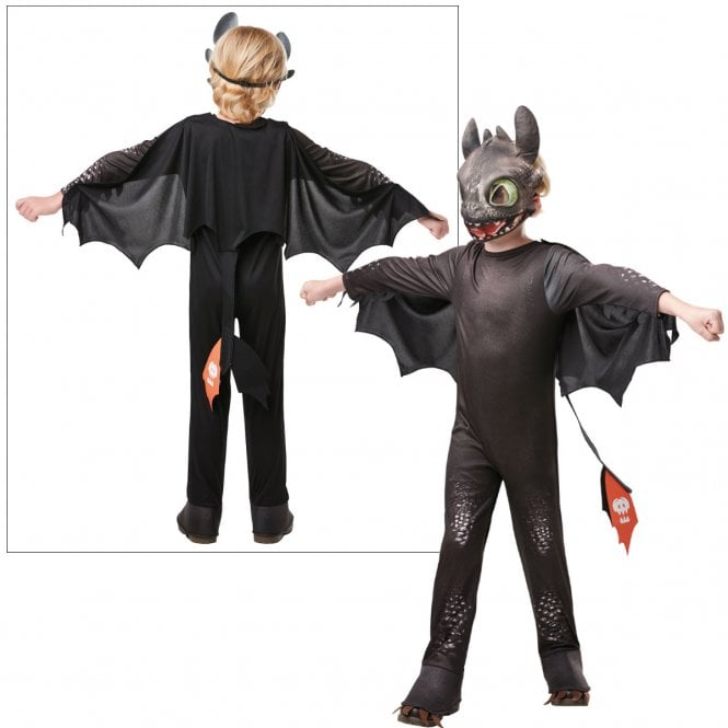 HOW TO TRAIN YOUR DRAGON ~ Hidden World ~ Toothless - Kids Costume
