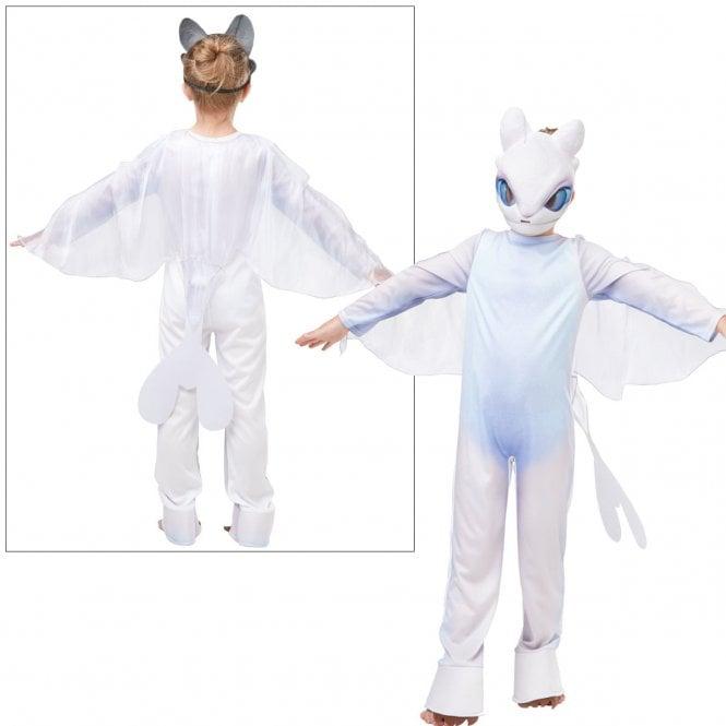 HOW TO TRAIN YOUR DRAGON ~ Light Fury - Kids Costume