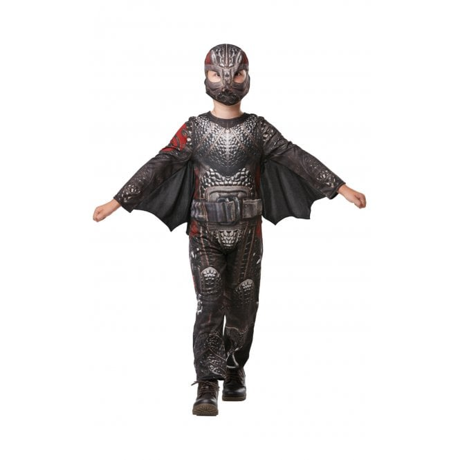 HOW TO TRAIN YOUR DRAGON ~ Hidden World ~ Deluxe Hiccup Battlesuit - Kids Costume