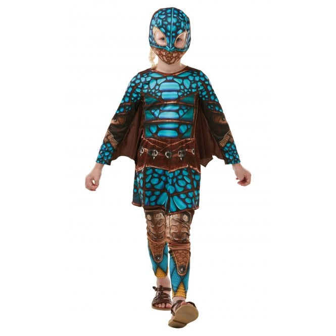 HOW TO TRAIN YOUR DRAGON ~ Hidden World ~ Deluxe Astrid Battlesuit - Kids Costume
