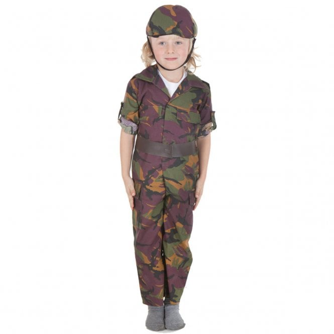 Army Soldier - Kids Costume
