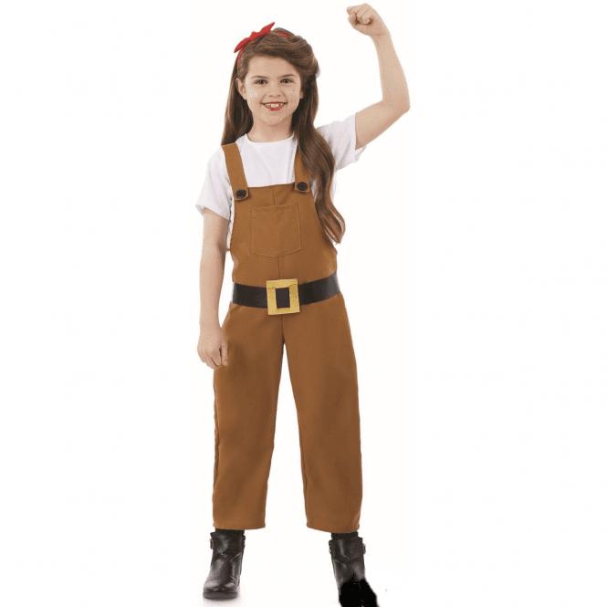 Land Girl - Kids Costume