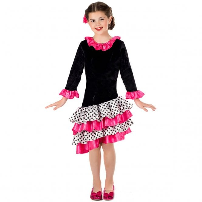 Little Flamenco Dancer - Kids Costume