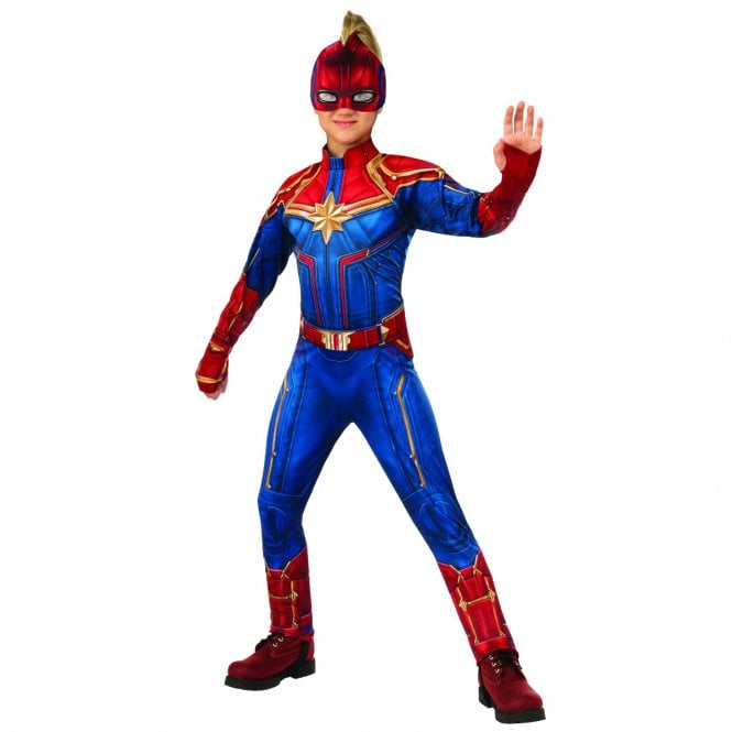 ~ Girls Hero Suit (Deluxe)   *NEW 2019 CAPTAIN MARVEL* - Kids Costume