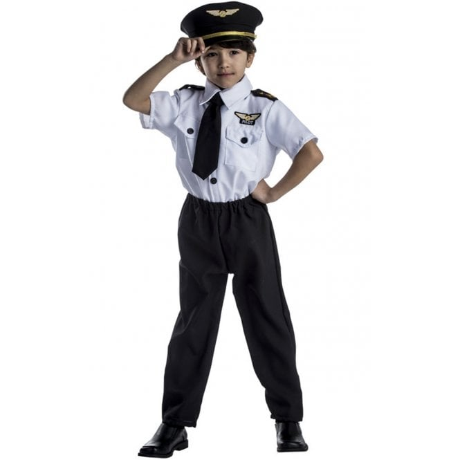 Pilot Kid - Kids Costume