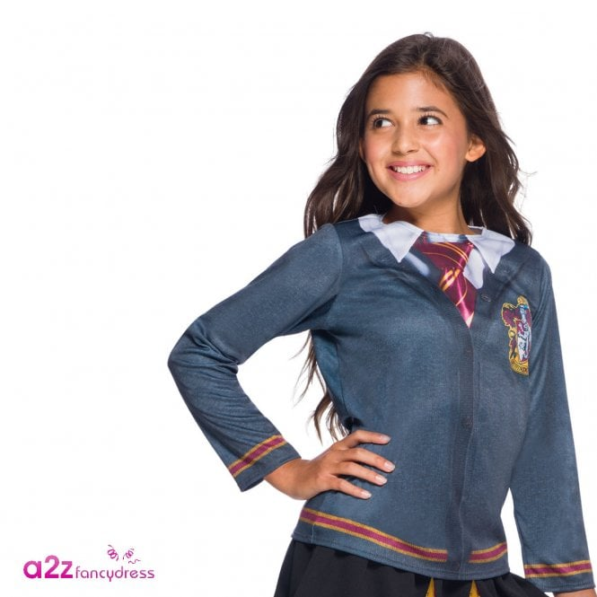HARRY POTTER ~ Hermione Granger Gryffindor Costume Top - Kids Accessory
