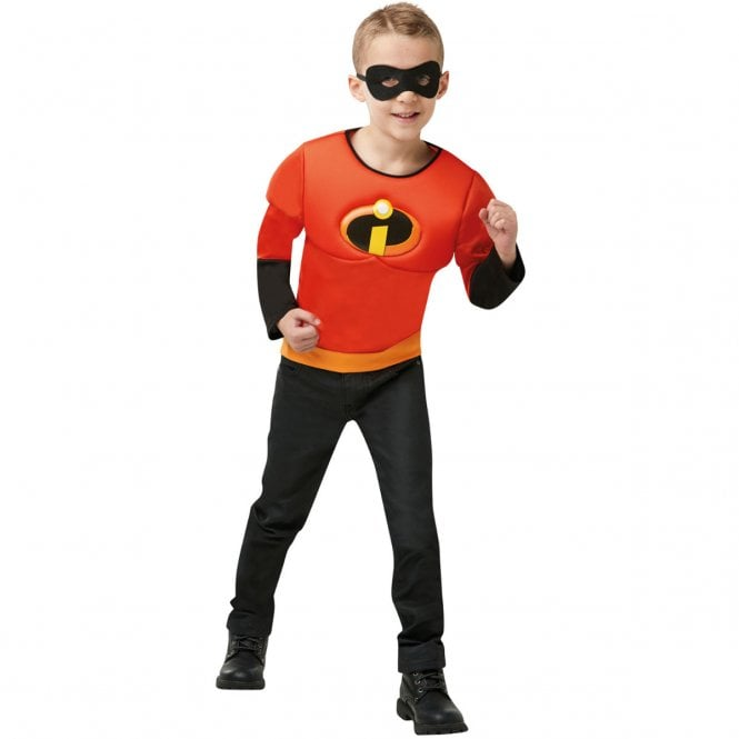Incredibles 2 Muscle Chest Top  - Kids Costume