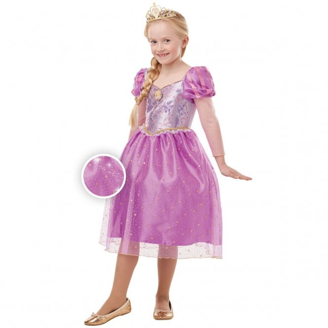 DISNEY PRINCESS ~ Rapunzel (Glitter & Sparkle 2019) - Kids Costume