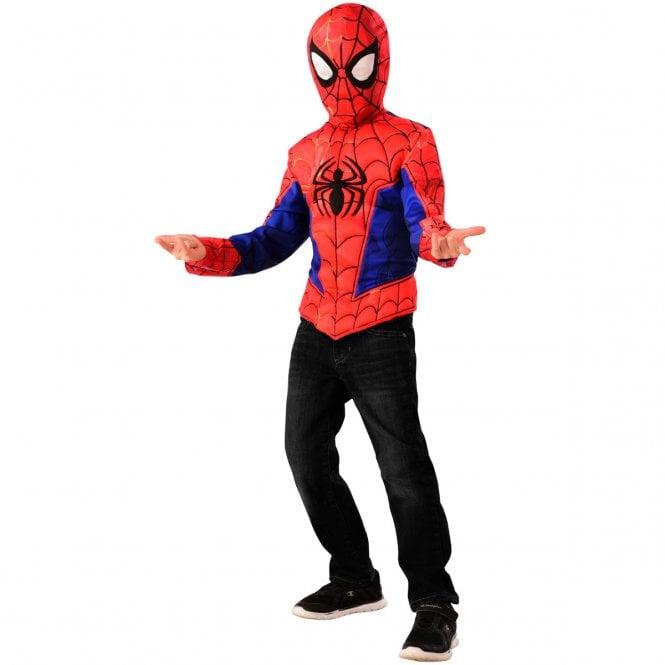 SPIDERMAN ~ Spider-Man (Spider-Man - Into The Spider-Verse) - Kids Costume Top Set