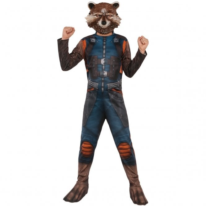~ Rocket Raccoon Classic -  2019 AVENGERS ENDGAME - Kids Costume