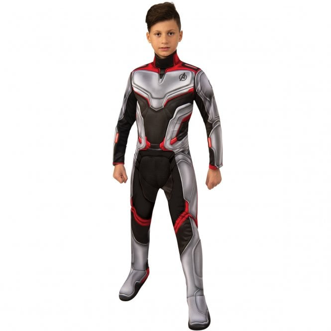 ~ Deluxe Team Suit -  2019 AVENGERS ENDGAME - Kids Costume