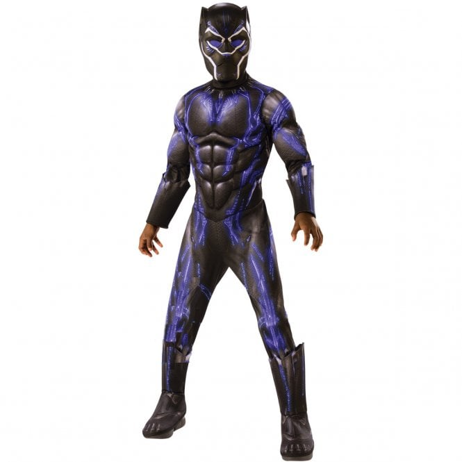 ~ Black Panther Deluxe (Purple Battle Suit) - 2019 AVENGERS ENDGAME - Kids Costume