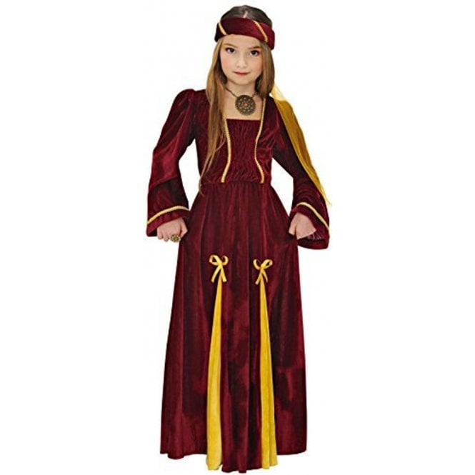 Medieval Princess with Bows - Kids Costume