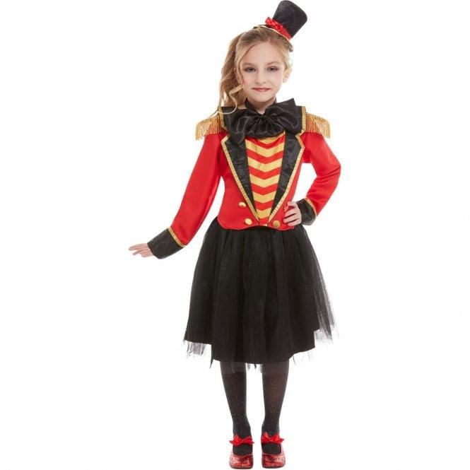 Ringmaster Costume - Kids (Girls) Costume