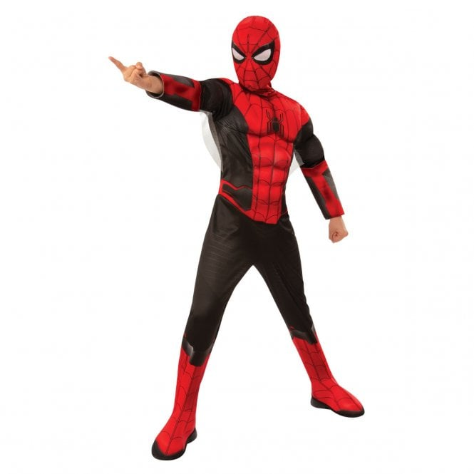 ~ Deluxe Spider-Man (Black) - 2019 Far From Home - Kids Costume