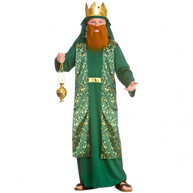 GREEN Wise Man - Kids Costume