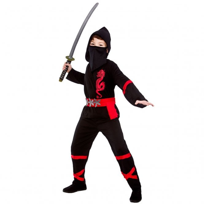 Black Power Ninja - Kids Costume