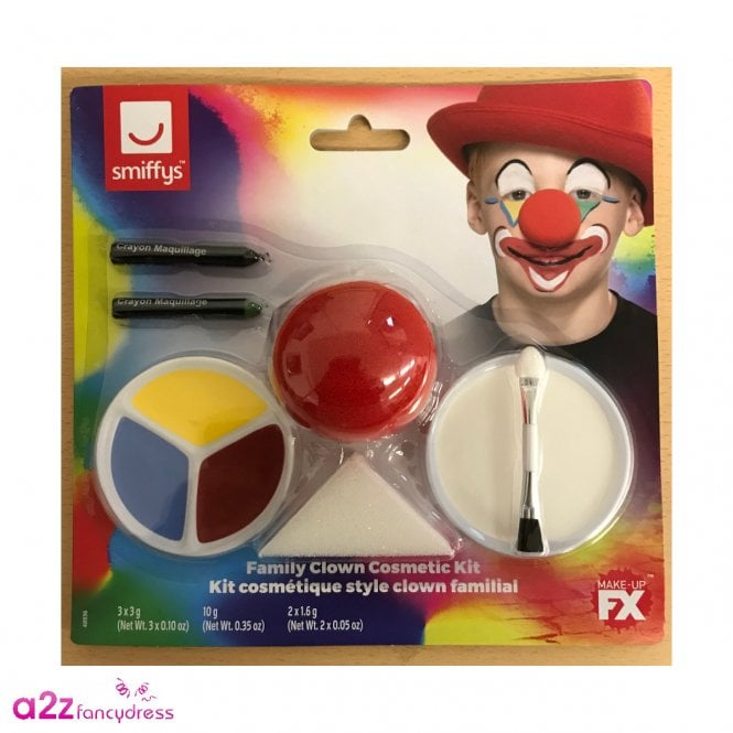 Family Clown Cosmetic Kit - Accessory