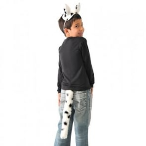 Dalmatian Ears & Tail - Kids Accessory