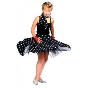 Black Rock N Roll Skirt - Kids Accessory