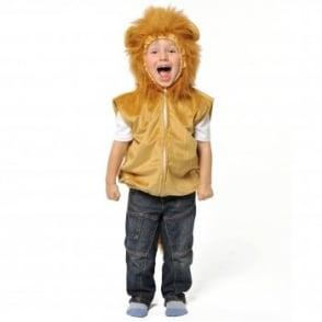 Lion Zip Top - Kids Costume
