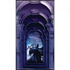 Grim Reaper Door Cover - Halloween Decoration