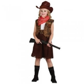 Western Cowgirl - Kids Costume