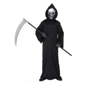 Holographic Grim Reaper - Kids Costume