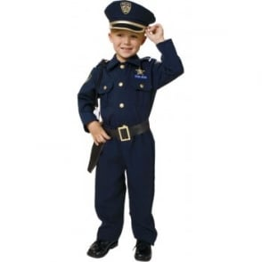 US Police Officer (Deluxe) - Kids Costume