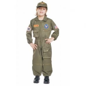 Air Force Pilot - Kids Costume