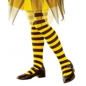 Bee Tights (Black & Yellow) - Kids Accessory