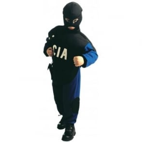 CIA Special Police - Kids Costume