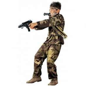 Special Force Soldier - Kids Costume