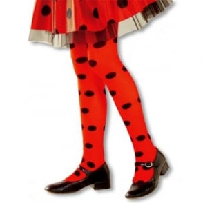 Ladybird Tights - Kids Accessory